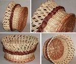 Мобильный LiveInternet ПЛЕТЕНИЕ ИЗ ГАЗЕТ. Корзинка оригинального косого плетения. Способ окрашивания корзинки | Марриэтта - Вдохновлялочка Марриэтты |