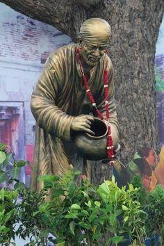Om sai r Shri Ram Wallpaper, Sai Baba Hd Wallpaper, Cartoon Wallpaper, Sai Baba Pictures, God Pictures, Sunday Pictures, Hanuman Pics, Sai Baba Miracles, Shirdi Sai Baba Wallpapers