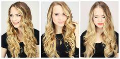 Wij hebben vandaag een hair-tutorial waarin drie manieren worden uitgelegd om in slechts vijf minuten een prachtige bos krullen bij jezelf te realiseren!