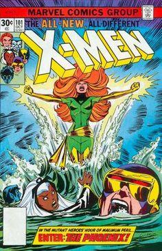 Sea - Storm - Marvel Comics Group - Enter The Phoenix - Jean Grey - Dave Cockrum