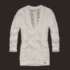 To find out about the White V Neck Hollow Cardigan Buttons Sweater at SHEIN, part of our latest Sweaters ready to shop online today! Hollister Style, Hollister Sweater, Hollister Fashion, Hollister California, Cute Sweaters, Girls Sweaters, Long Sweaters, White V Necks, Autumn Winter Fashion