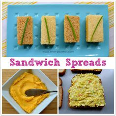 Cheese Paste and Egg Salad Sandwiches from Guyana