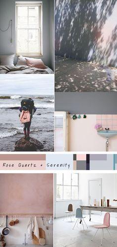 Pantone 2016 - Rose Quartz & Serenity | Olive & the Fox