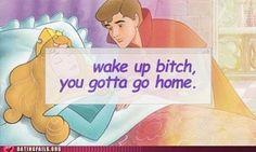 Sleeping Beauty Humor