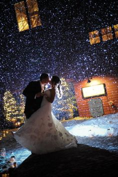 Let it snow ... - Groton Wedding at The Barn at Gibbet Hill from Bharat Parmar Photography......WOW!!!!!