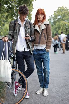 On the streets of London #streetstyle #fashion