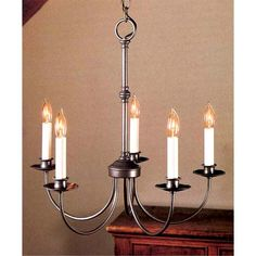 Hubbardton Forge Small Simple Line Chandelier