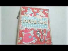 RECIPE BOOK TUTORIAL+ FREE DIGITAL COLLECTION!!!! - YouTube