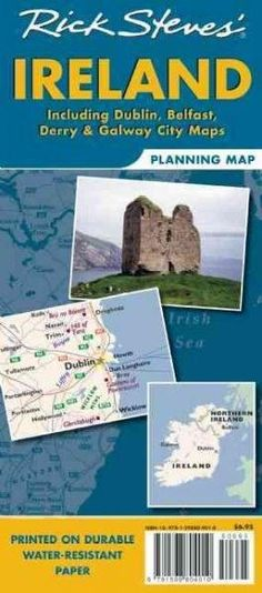 Rick Steves' Ireland Planning Map: Including Dublin, Belfast, Derry & Galway City Maps