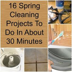 16 Spring Cleaning Projects To Do In About 30 Minutes fb