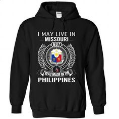 I May Live in Missouri But I Was Made in the Philippine - #tshirt refashion #american eagle hoodie. ORDER NOW => https://www.sunfrog.com/States/I-May-Live-in-Missouri-But-I-Was-Made-in-the-Philippines-rvjvzfzrtu-Black-Hoodie.html?68278