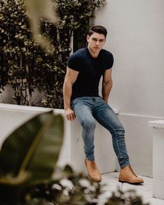 145 trendy mens fashion summer ideas to make your happy – page 29 Trendy Mens Fashion, Stylish Mens Outfits, Hipster Fashion, Casual Outfits, Men Hipster, Urban Fashion, Casual Shirts, Casual Ootd, Guy Fashion