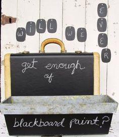 Blackboard everything!