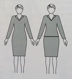 linhas horizontais- podem encurtar ou alargar já que direcional o olhar no sentido de uma borda á outra. Exemplo: cintos, decote ombro a ombro.
