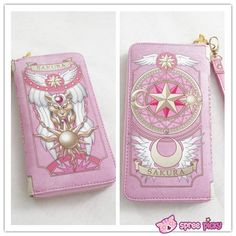 2 Colors Card Captor Sakura Magic Book Hand Bag Purse Can Pack Phone SP151782 - SpreePicky  - 3