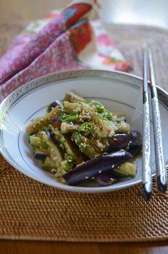 How to make Korean eggplant side dish, Gaji Namool