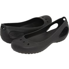 Not for me!  These were too high in the back for me.  I preferred other Croc flats. Crocs Kadee