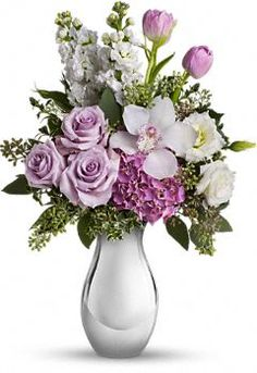 Teleflora's Breathless Bouquet  http://www.teleflora.com/flowers/bouquet/telefloras-breathless-bouquet-388171p.asp