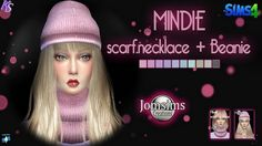 Khany Sims - accessoires féminins - Sims 4 - female accessories