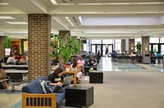 The Student Center offers a place for students to relax, study, and enjoy delicious food from the Nature's Table Café. It also houses the student-run newspaper and bookstore. http://www.seminolestate.edu/?utm_source=Pinterest_medium=Link_campaign=Virtual%2BTour