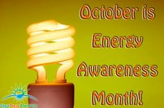October is Energy Awareness Month! October, Soap, Personal Care, Bottle, Flask, Soaps