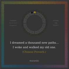 Ouranio.com | Daily quote: I dreamed a thousand...