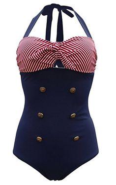 Choisir Une Meilleure Prise Tailloday Taille plus Frange rétro Taille haute Bikini vintage maillots de bain Maillot de bain - Rose - X-Large Collections En Ligne Les Dates De Sortie Vente En Ligne AHrsFl
