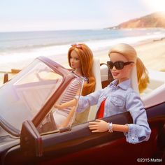 Travel opens up a world of inspiration! But you don't have go far, buddy up for a road trip to see what you discover.  #besuper #barbie #barbiestyle