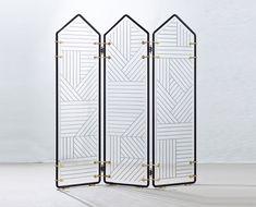 Nos objets en verre préférés : Paravent Impressionniste, David & Nicolas.