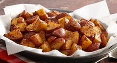 Oven roasted bbq potatoes 1 1 2 lb about 4 med red potatoes 1 t