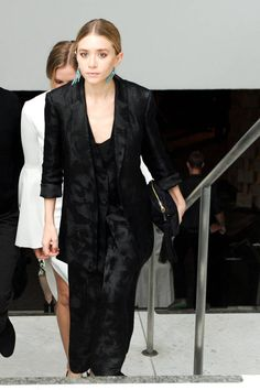 Ashley Olsen in the Row celebrates at Hammer Museum Gala. See the best dressed, here: