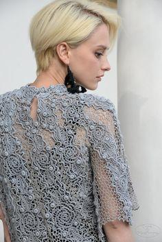 Freeform Crochet, Crochet Motif, Irish Crochet, Crochet Lace, Romanian Lace, Point Lace, Lace Outfit, Irish Lace, Crochet Fashion