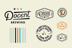 Docent Brewing Branding by Hoodzpah Design