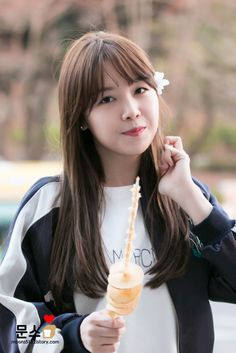 Minah Girls Day Minah, Girl Day, Bang Minah, Kpop Girl Bands, Hyeri, Kpop Girls, Korean Girl, Asian Beauty, Bangs