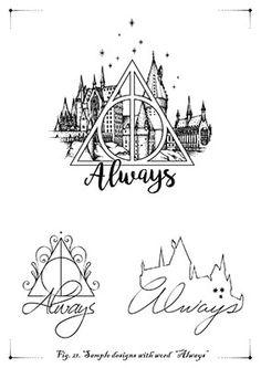 - Harry Potter World 2020 Harry Potter Castle, Arte Do Harry Potter, Harry Potter Drawings, Harry Potter Tattoos, Harry Potter Theme, X Tattoo, Body Art Tattoos, Small Tattoos, Tatoos