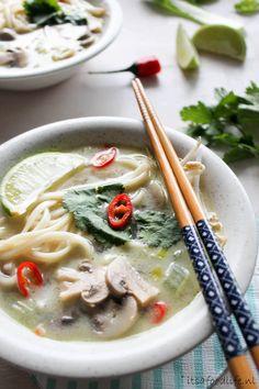 Thaise kokossoep | It's a Food Life