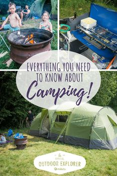 Scrapbook Blog Everything you need to know about Camping