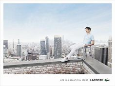 Lacoste Life is a Beautiful Sport | The Inspiration Room