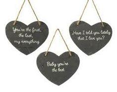 parlane plain chalkboard heart