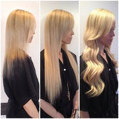 Before after hotheads hair extensions model aubrie losch shagboston salons photo gorgeous blonde hotheads hairextensions dont pmusecretfo Image collections