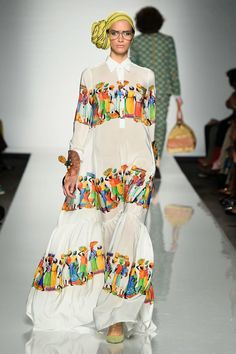 African Prints in Fashion: Beat of Africa - AltaRoma and ITC Ethical Fashion Initiative