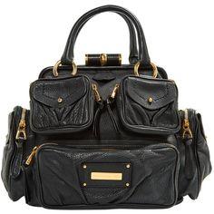 Pre-owned Barbara Bui Leather Handbag (37.705 RUB) ❤ liked on Polyvore featuring bags, handbags, black, women bags handbags, leather hand bags, purse bag, hand bags, leather bags and handbag purse