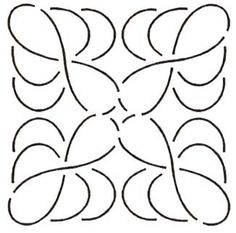 Quilt Stencil Feather Block By Mori, Joyce  - 5 1/2in