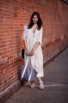 Flow-y Victorian dress