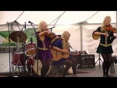 Difference between Irish reel and jig - Gothard Sisters - YouTube