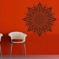 Wall decal art decor decals sticker hands Buddhism India Indian star Buddha Mandala OM Yoga success god lord (m67) on Etsy, $28.10