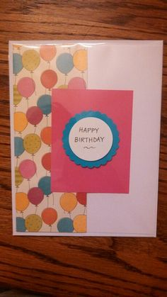 B'day card