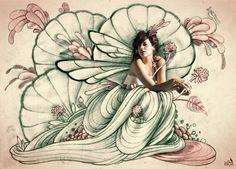Misturando ilustração e cantoras pop