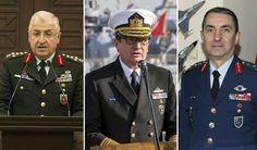 Yeni kuvvet komutanları belli oldu #SonDakika #Haberler