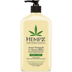 Hempz Blushing Grapefruit and Raspberry Creme Herbal Body Moisturizer 17 oz Hempz Lotion, Pear Body, Herbal Extracts, Body Lotions, Body Spray, Smell Good, Body Care, Creme, Herbalism